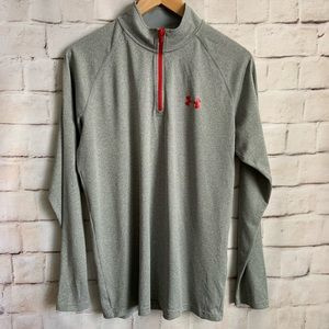 Under Armour Pullover1/4 Zip, Heat Gear, Loose S.